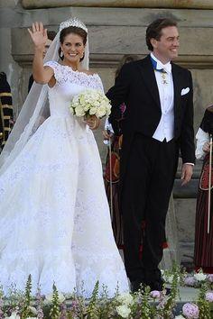 Prinses Madeleine en Chris O'Neill