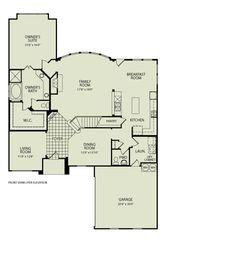 QUENTIN 103 Drees Homes Interactive Floor Plans Custom Homes