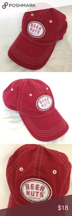 d7f6e625451 BEER NUTS Baseball Cap Trucker Hat Strapback Beer Nuts baseball cap