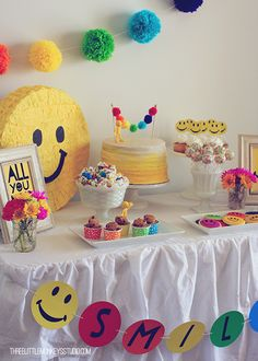Smiley Face Party
