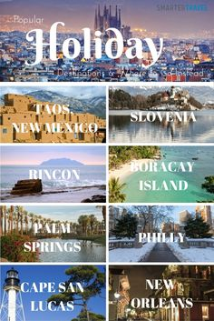 10 Perfect Alternatives To Popular Holiday Destinations