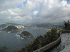 San Sébastien vue du mont Igueldo