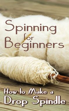Drop Spindle Spinning: Making and Using Your First Spindle - Countryside - wool - Spinning Wool, Hand Spinning, Spinning Wheels, Spin Me Right Round, Drop Spindle, Loom Weaving, Loom Knitting, Knitting Patterns, Learn To Crochet