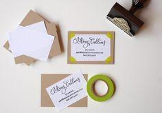 cute idea for business cards