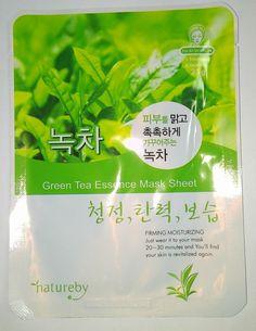 Natureby Green Tea Essence Mask Pack K-Beauty 1pcs #Natureby