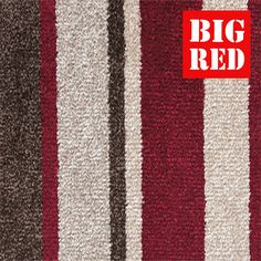 Ruby Stripe | Rhapsody: Abingdon Flooring - Best prices in the UK from The Big Red Carpet Company
