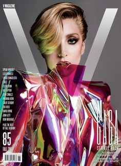 Lady Gaga: More Nude 'V' Magazine Pics!: Photo Lady Gaga shows off some more of her nude body in her cover feature for V magazine's September 2013 issue. V Magazine, Fashion Magazine Cover, Fashion Cover, Magazine Cover Design, Fashion Art, Magazine Stand, Fashion Bible, Digital Magazine, Fall Fashion
