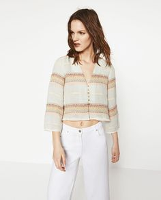 Image 2 of SPECIAL EDITION TOP from Zara