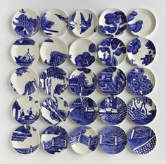 Molly Hatch is an artist, illustrator, teacher and ceramist who can't keep a painting within a single plate, much less her activities to even a few related spheres.