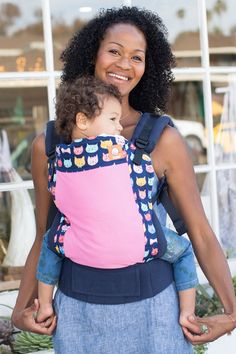 Baby carriers are so delightfully snuggly and cozy for infants -- until the temperature soars. Then both you and the baby feel eaten alive by too-hot fabric. On the worst days, both you and your baby will be sweaty, clammy, and irritable, hardly the recipe for peaceful nap-inducing walks. So if you have a carrying-age little one -- or a summer due date -- check out these cool and comfy carriers custom-made for warmer weather. 1. Moby Wrap Evolution: The Moby is arguably one of the most…