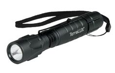TerraLUX LightStar 180 flashlight.  180 lumens, 2 AA batteries, holster, wrist lanyard, and pocket clip.  Best high output flashlight we tested for under sixty dollars.  This is a steal from us at $31.99