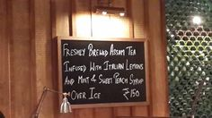 The ubiquitous sign boards at Jamie's Italian Ambiance Mall Vasant Kunj