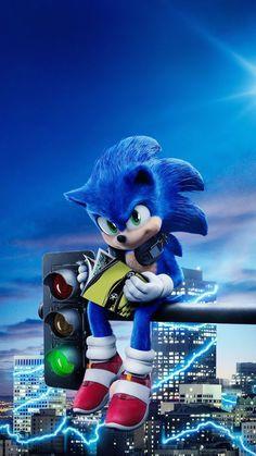Sonic the Hedgehog Art Hedgehog Art, Hedgehog Movie, Sonic Hedgehog, Sonic The Hedgehog Costume, Sonic The Movie, Sonic And Amy, Sonic Fan Art, Vintage T-shirts, Fantasy Movies