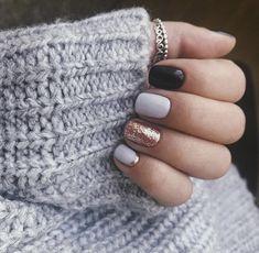 25 Perfect Winter Nail Designs To Make You Feel Warm Nageldesign Nail Art Nagellack Nail Polish Nailart Nails Nail Polish, Shellac Nails, Acrylic Nails, Gel Manicure, Coffin Nails, Stiletto Nails, Cute Nails, Pretty Nails, Nagellack Design