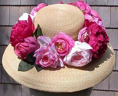 Peter Beaton hats! I have just a lovely black ban on mine but smashing with the flowers too! www.peterbeaton.com