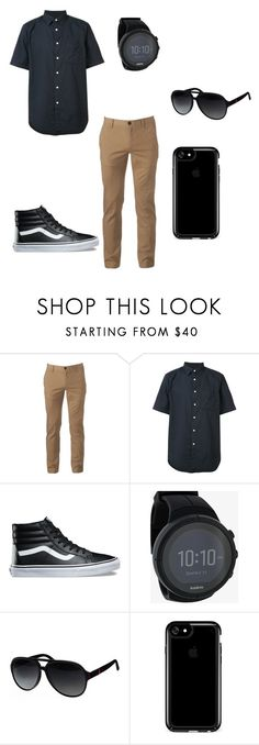 """""""Untitled #112"""" by kaylabethsimpson on Polyvore featuring Urban Pipeline, rag & bone, Vans, Suunto, Gucci, Speck, men's fashion and menswear"""