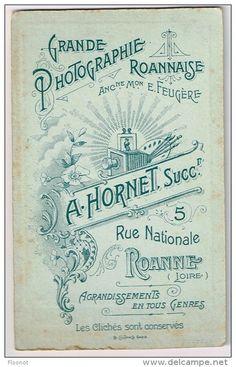 HORNET A., Ancienne Maison FEUGÈRE - Roanne, Loire