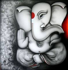 Indian Art Guru :: Ganesha 1