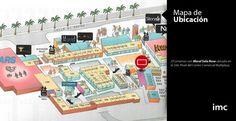 Mapa de Ubicación//Mural Sala Rosada//2do. Nivel Multiplaza #ConoceNuestrosMediosIMC