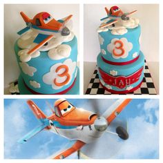 Disney, Planes, Fire & Rescue.  The Flour Basket Cake Shop