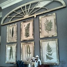 Fern prints  Scarlett Scales Antiques - Franklin, Tennessee Hip Antique Boutique
