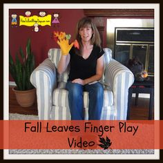 """Fall Leaves"" Finger Play Video (from How to Run a Home Day Care)"