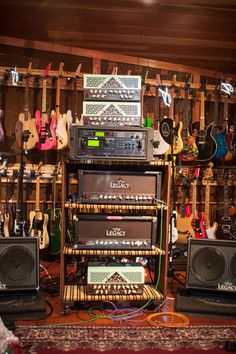 Steve Vai's studio