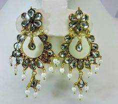 Fancy Jewellery, Jewelry, Drop Earrings, Fashion, Moda, Jewlery, Jewerly, Fashion Styles, Schmuck