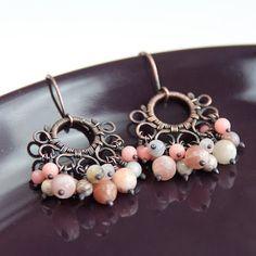 franio: Copper earrings