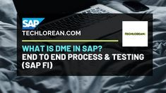 SAP DMEE   WHAT IS SAP DME   FULL PROCESS & TESTING Process Flow, Financial Accounting, Machine Learning, Definitions, Insight, Connection, Finance, Education, Videos