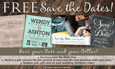 Save the Date Deal!