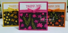 HAPPY HEART CARDS: STAMPIN' UP! BACK TO BLACK, COLOURED WITH BLENDABILITES, PART 2