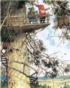 Иллюстрация 38 из 75 для В стране гномов - Эрих Хайнеманн   Лабиринт - книги. Источник: Лабиринт