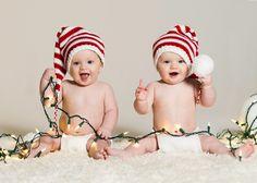 Christmas Knit Baby Hat Pixie Elf Stocking by OneDayAtAThyme, $19.99