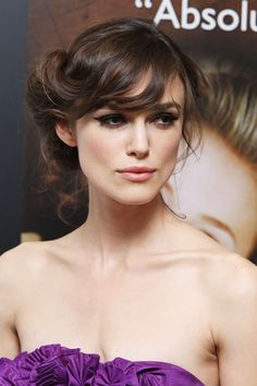 From crops to curls - with several colour changes along the way - see Keira Knightley's hair history here