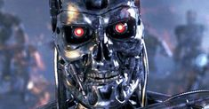 "Over the past year big names in technology and science like Elon Musk and Stephen Hawking have warned that the threat of artificial intelligence gone bad, a la Skynet in the ""Terminator"" franchise, might be more than just science fiction. Stephen Hawking, T 800 Terminator, Terminator Movies, Astro Boy, Harrison Ford, Matt Damon, King Kong, Science Fiction, Funny Google Searches"