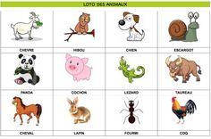Loto des animaux imprimer 60 animaux au total partie 2 5 retrouvez les autres planches sur - Devine tete a imprimer ...