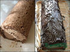 Rulada cu ciocolata si rom - Bucataresele Vesele Bread, Rome, Bakeries, Breads