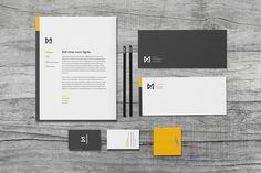 Chroma - Corporate identity pack for your creative business. A set of templates which are easy to edit within Illustrator. Includes business card, envelope, letterhead, and more! Corporate Design, Corporate Identity, Business Card Design, Creative Business, Personal Identity, Visual Identity, Corporate Stationary, Identity Branding, Letterhead Design