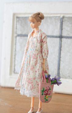 flower garden doll outfit