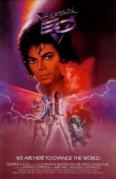 Check out this Michael Jackson tribute that includes pre-show music to the Captain EO movie.