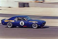 Mark Donohue in a Penske Camaro.  What a team they were.