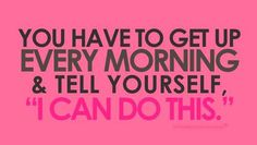 """""""I can do this"""" #health #fitness #inspiration #motivation #quote #fit #exercise #workout #goal #weightloss #success #SkinnyTwinkie"""