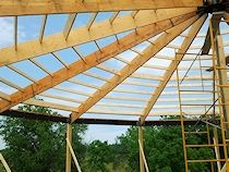 Details of Round Pen Rafters More