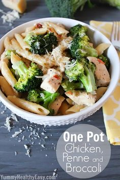One-Pot Chicken, Penne, and Broccoli | 21 Fresh Ideas For Chicken Dinners