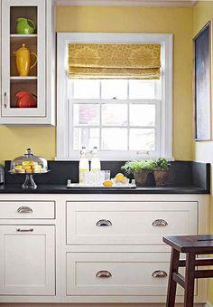 Colori Pareti Cucina Bianca Cerca Con Google Yellow Kitchen