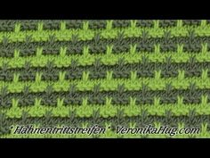 Videolu, Haroşalı İki Renkli Örgü Modeli Nasıl Yapılır? - Mimuu.com