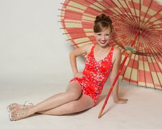 Vintage 1970s Swimsuit Red Floral Summer Fashions Away Daisy on Etsy, $95.00