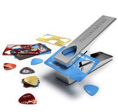 Pickmaster Plectrum Punch... how cool is this thing?!