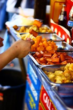 Street food. More fun in the Philippines